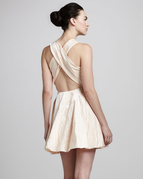 Rosalia Cross-Back Dress