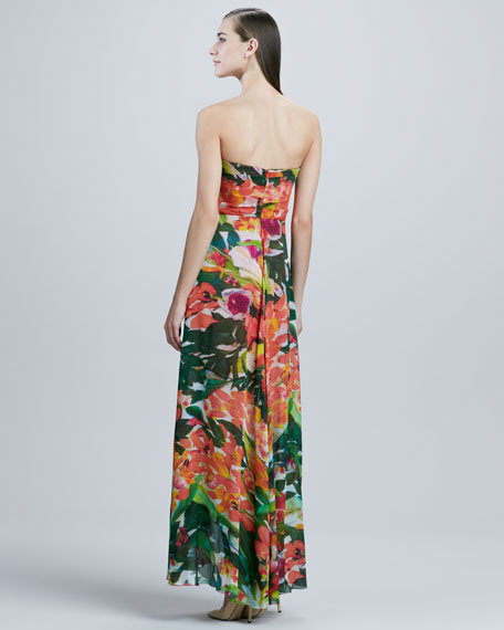 Strapless Hi-Low Gown