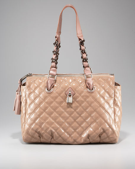 Anabela Quilted Tote