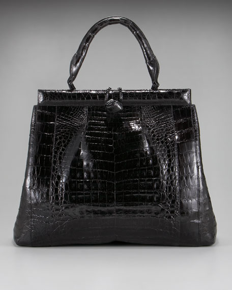 Crocodile Loop-Closure Satchel