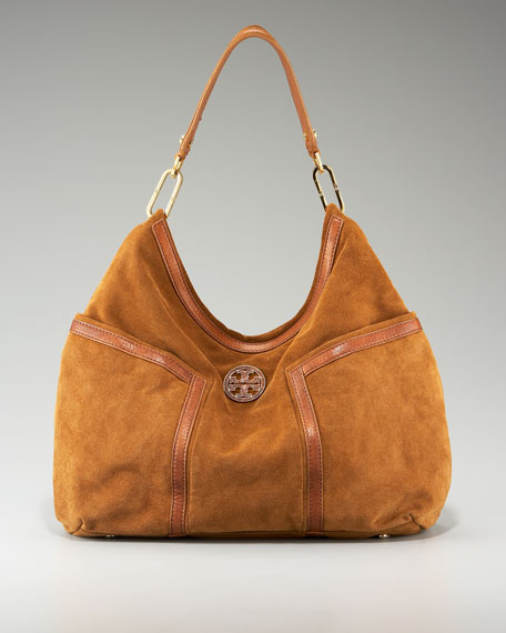 Lillian Suede Hobo
