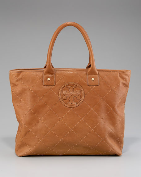 Jaden Quilted Tote, Small