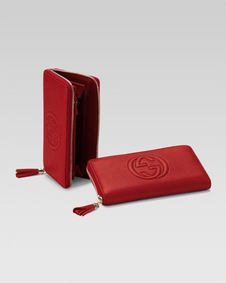 Soho Zip-Around Wallet