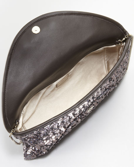 Canisa Sequined Clutch Bag