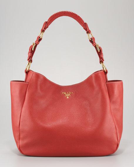 Vitello Daino Pocket Hobo Bag