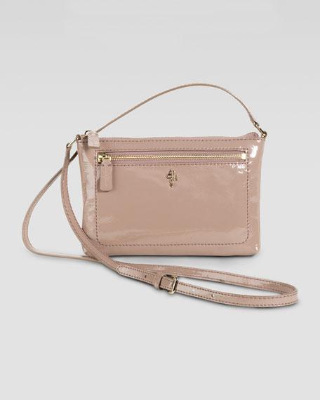 Mini Jitney Ali Crossbody Bag, Patent