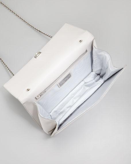 Ginny Studded Shoulder Bag, Ash