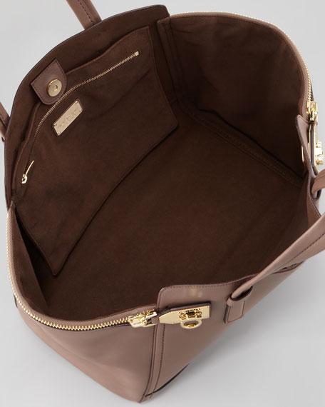 379991846d Salvatore Ferragamo Verve Light Zip-Side Tote Bag
