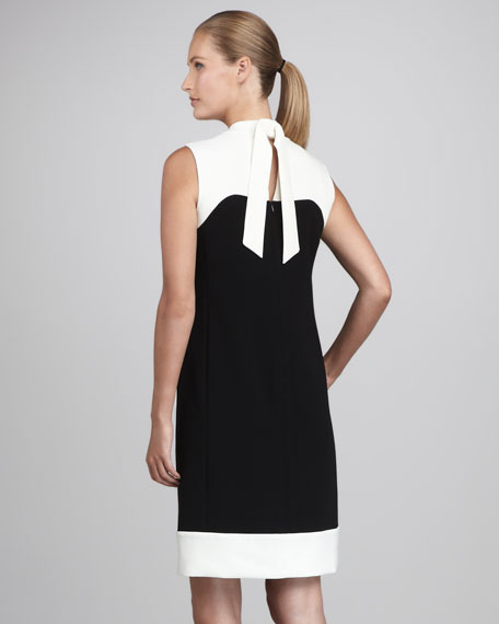 Holden Double-Face Colorblock Dress