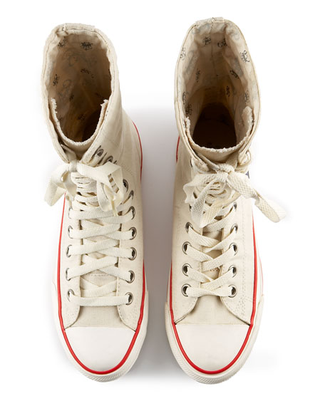 Let it Be Mid-Calf Fold-Over Sneaker
