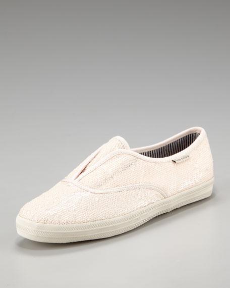 Sequined Slip-On Sneaker