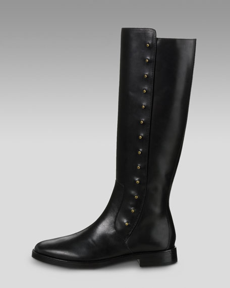 Brooklyn Stud Mid-Calf Boot