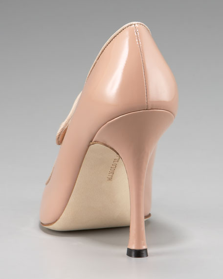 Round-Toe Mary Jane Pump