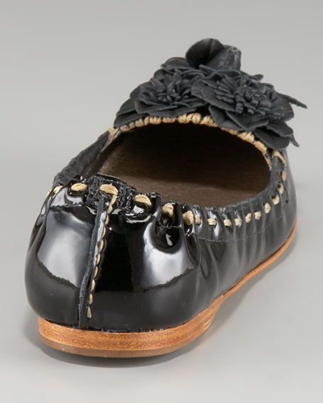 Tansy Patent Leather Moccasin