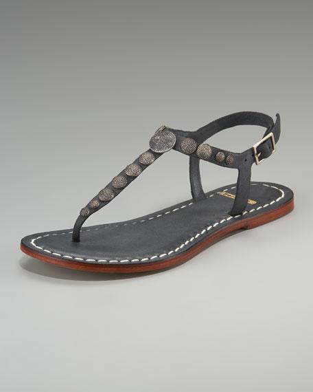 Mojito Metal-Circle Thong Sandal