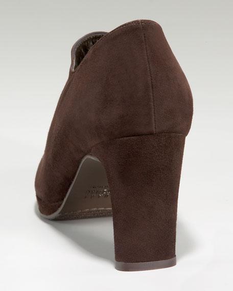 Mid-Heel Ankle Bootie
