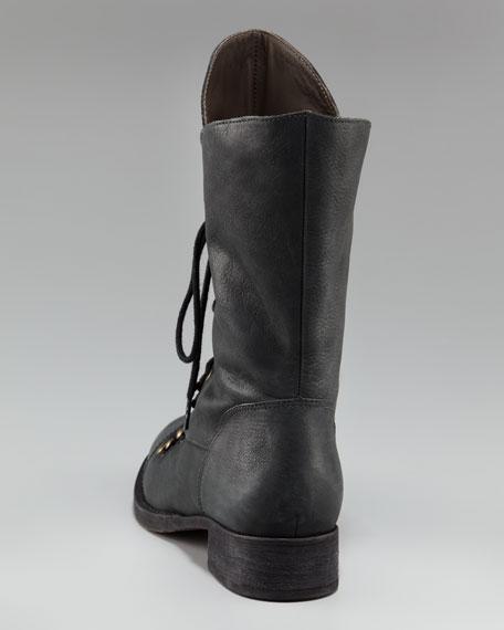 Jovi Mid-Calf Lace-Up Boot