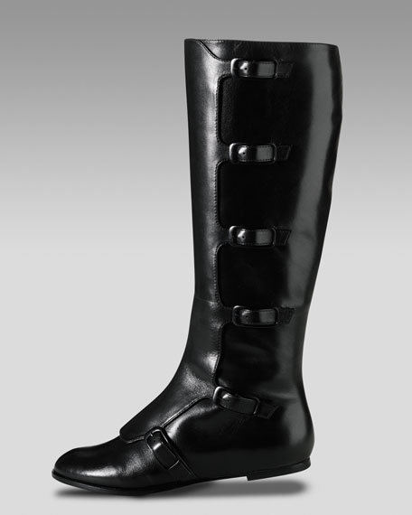 Air Alexis Flat Buckle Boot