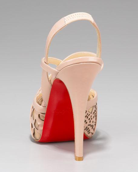Baladeuse Cutout Slingback Sandal
