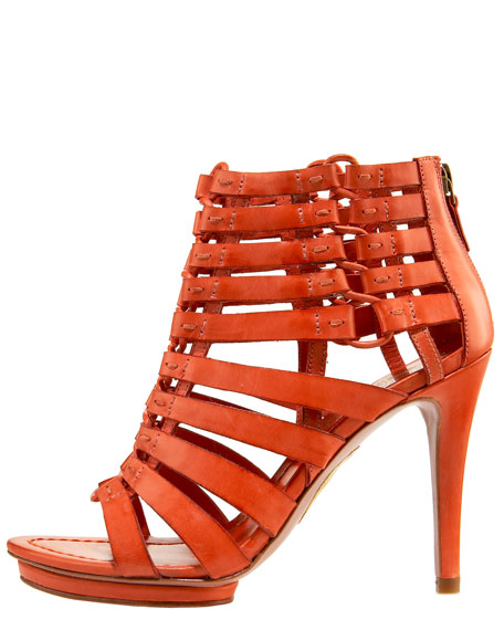 Nyla Lace-Up Platform Sandal
