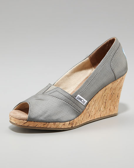Rowan Cork Wedge Heel
