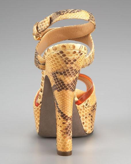 Python Platform Sandal