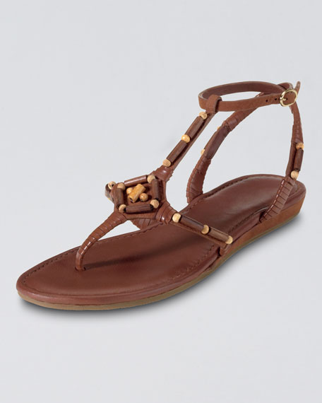 Larissa Beaded Thong Sandal