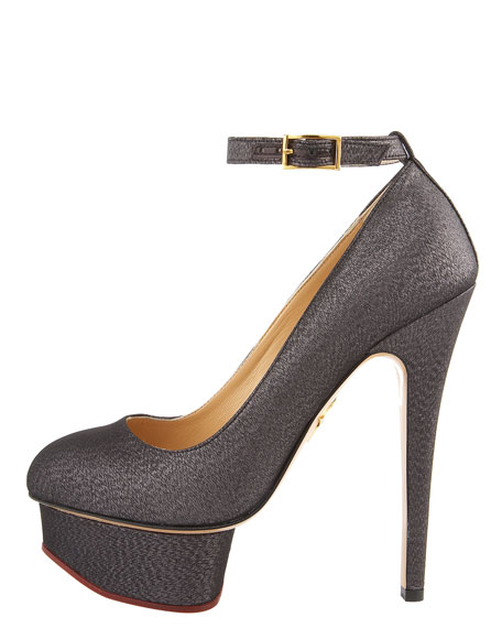 Silk Metallic Pump
