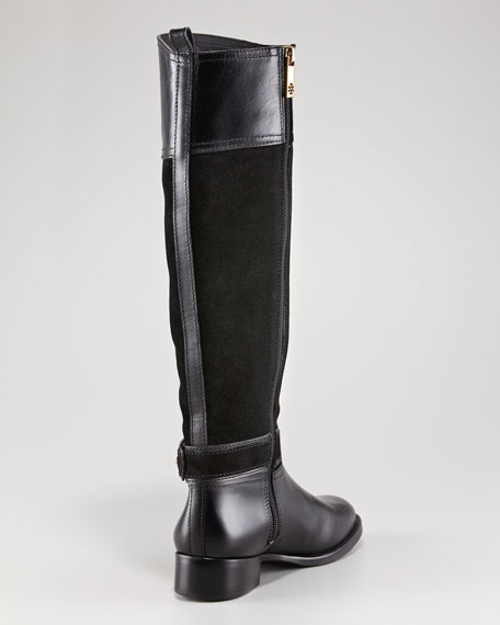 Tenley Suede Riding Boot