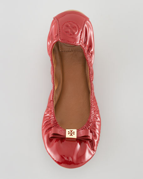 Eddie Patent Ballerina Flat