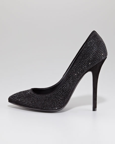 Strass-Covered Pump