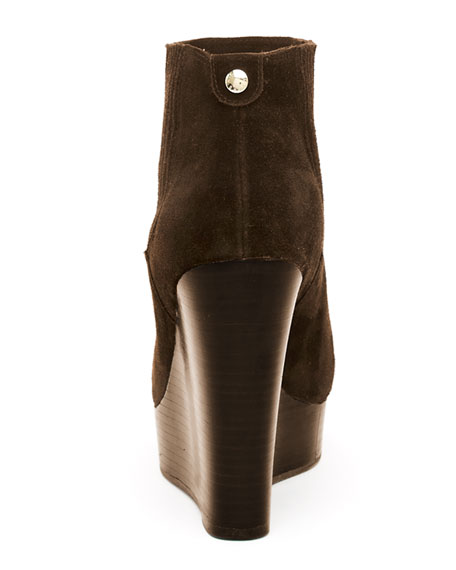 Emory Suede Wedge Boot