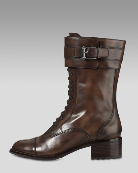 Air Joey Short Lace-up Boot
