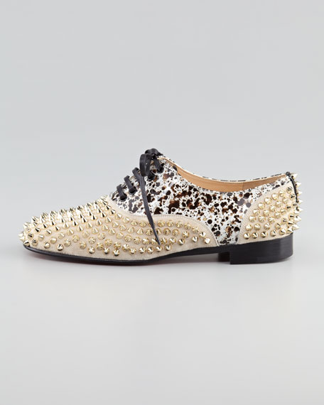 Freddy Studded Flat Oxford