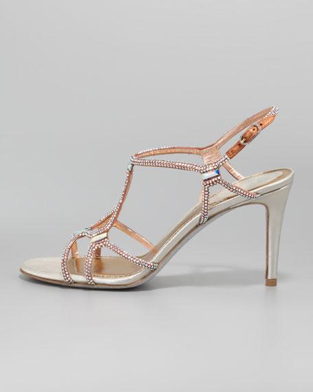 Crystal Slingback Sandal