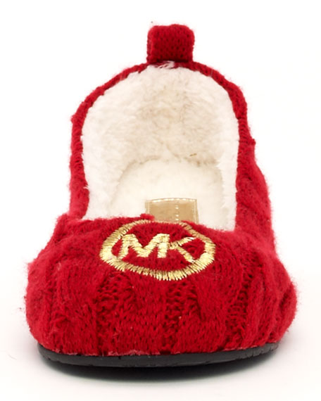 Jet Set Knit Ballerina Slipper
