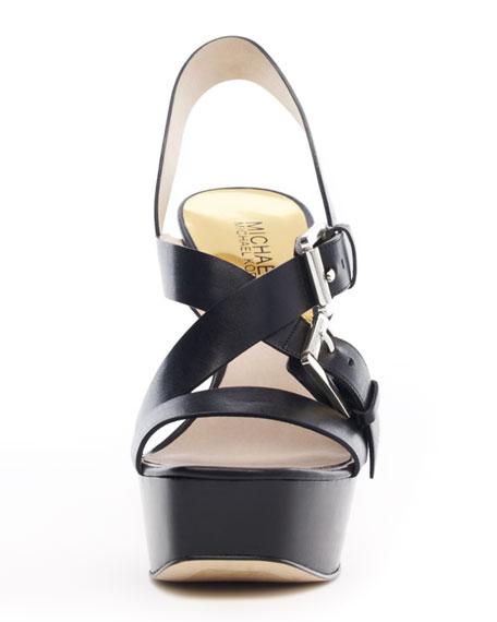 Josephine Leather Platform Sandal