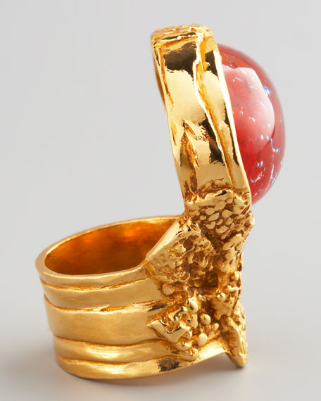 Yellow Golden Arty Ring, Opium