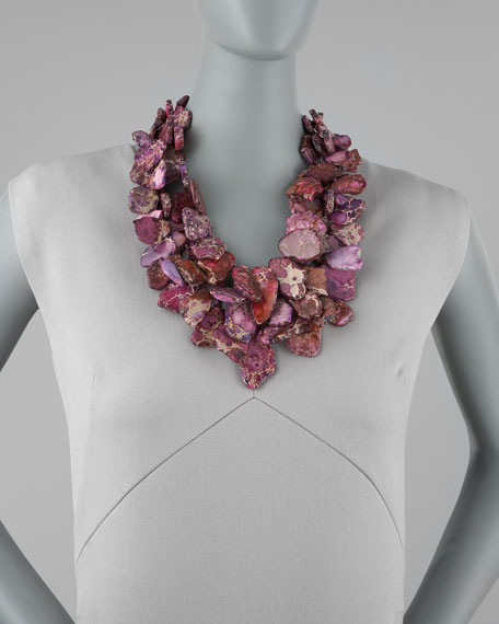 Jasper Chunky Necklace