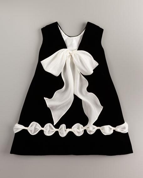 Velvet Dress, 12-24 Months