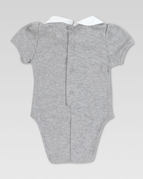 Jersey Bodysuit with Collar