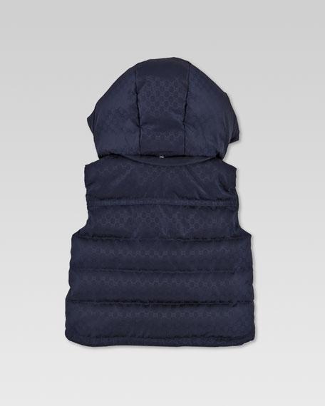 Waterproof Quilted Mini GG Vest