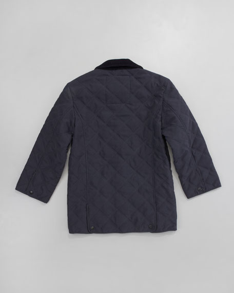 Classic Quilted Microfiber Jacket, Sizes 8-10