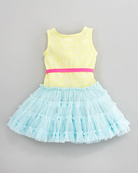 Sequined Tulle Dress, Sizes 4-6X
