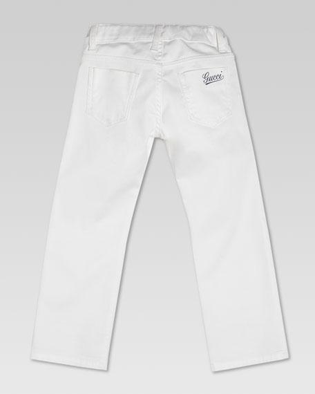 Denim Jeans, White