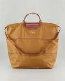 Longchamp Le Pliage Monogrammed Expandable Travel Bag