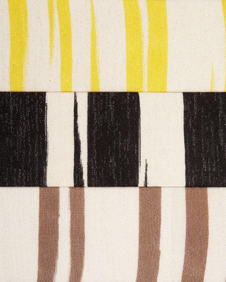 Metallic-Stripe Cardigan, Women's