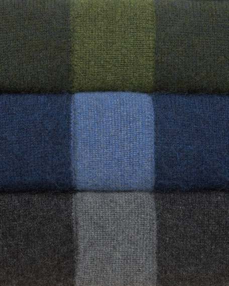 Half-Zip Cashmere Sweater, Hunter