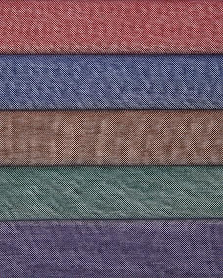 Country Oxford Short-Sleeve Polo, Erin Green