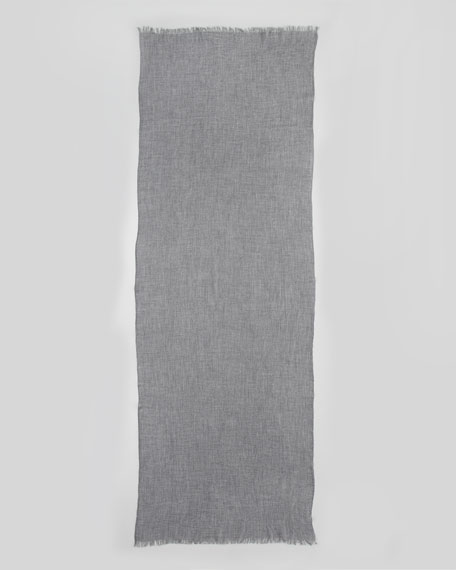 Ultra Lightweight Cashmere Stole, Heather Gray